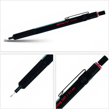Ołówek grawitacyjny Tikky III Rotring 500 0,5 czarny