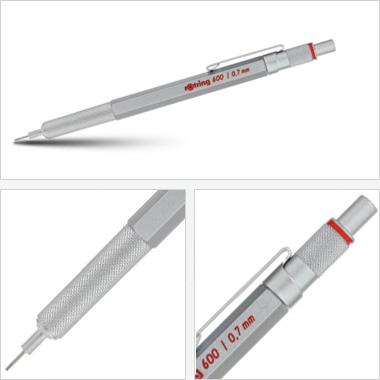 Powiększ Ołówek grawitacyjny Tikky III Rotring 600 0,7 srebrny