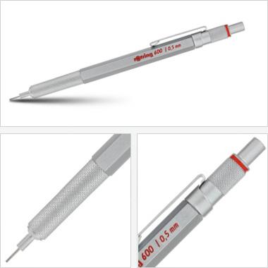 Powiększ Ołówek grawitacyjny Tikky III Rotring 600 0,5 srebrny