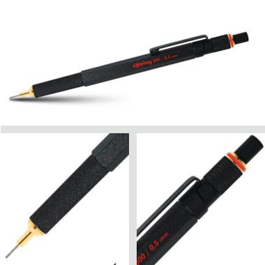 Powiększ Ołówek grawitacyjny Tikky III Rotring 800 0,5 czarny
