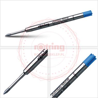Powiększ Wkład do długopisu Rotring Tikky niebieski (M)