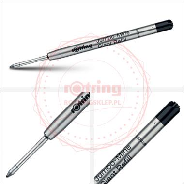 Powiększ Wkład do długopisu Rotring Tikky czarny (M)