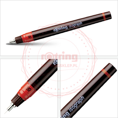 Isograph 0,18mm - Rotring Isograf