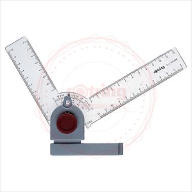 Powiększ Kątownik Rotring do deski kreslarskiej ze stopniowanie co 15 stopni