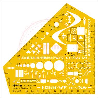 Powiększ Ekierka Studio elektro Rotring