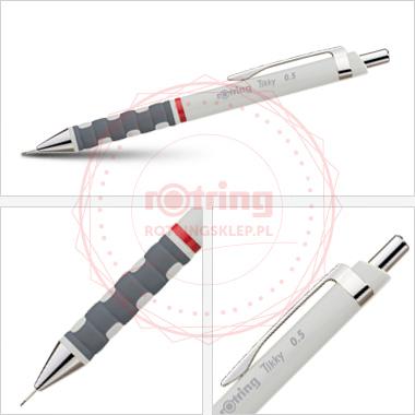 Powiększ Ołówek automatyczny Rotring Tikky III 0,5, szary korpus